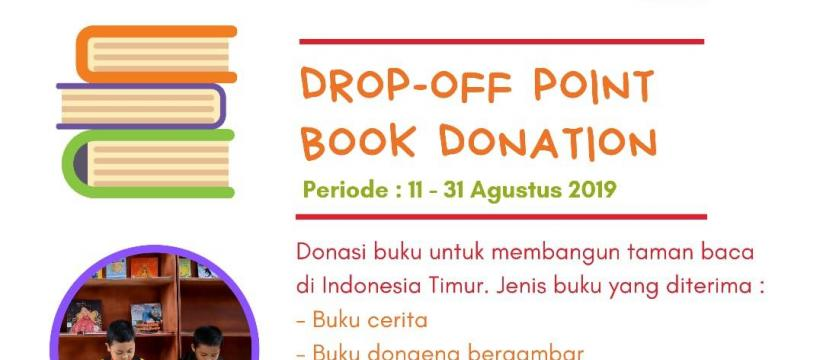 Indo Relawan: Drop-off Point Book Donation