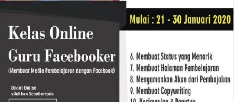 Kelas Online: Guru Facebooker