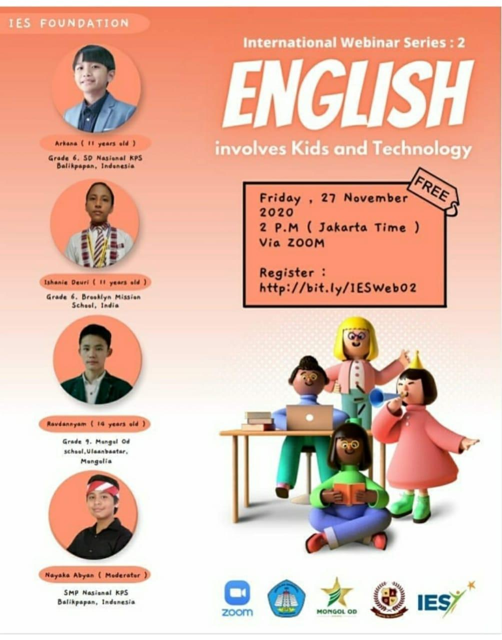English Involves and Kids and Technology