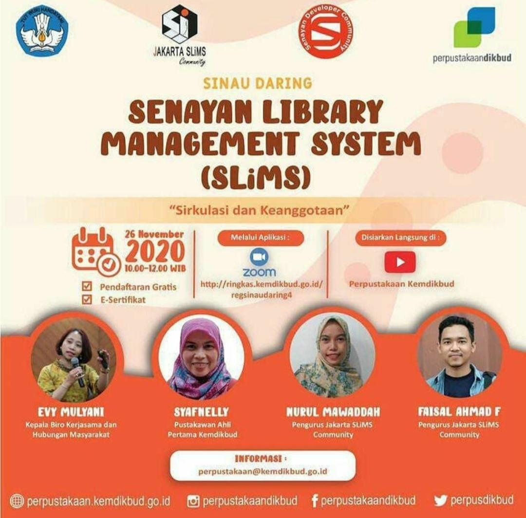 Senayan Library Management System