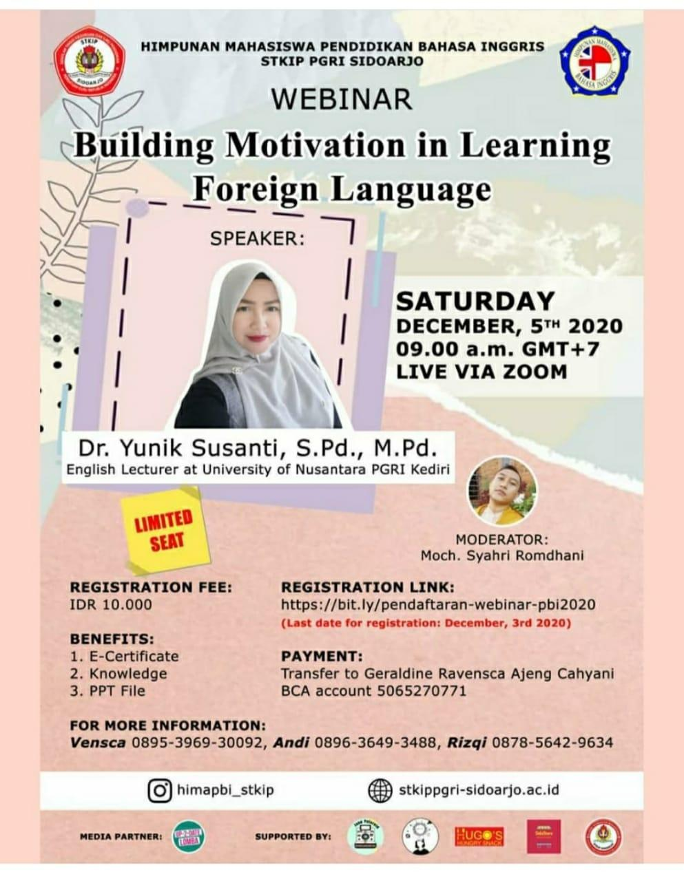 Building Motivation in Learning Foreign Language