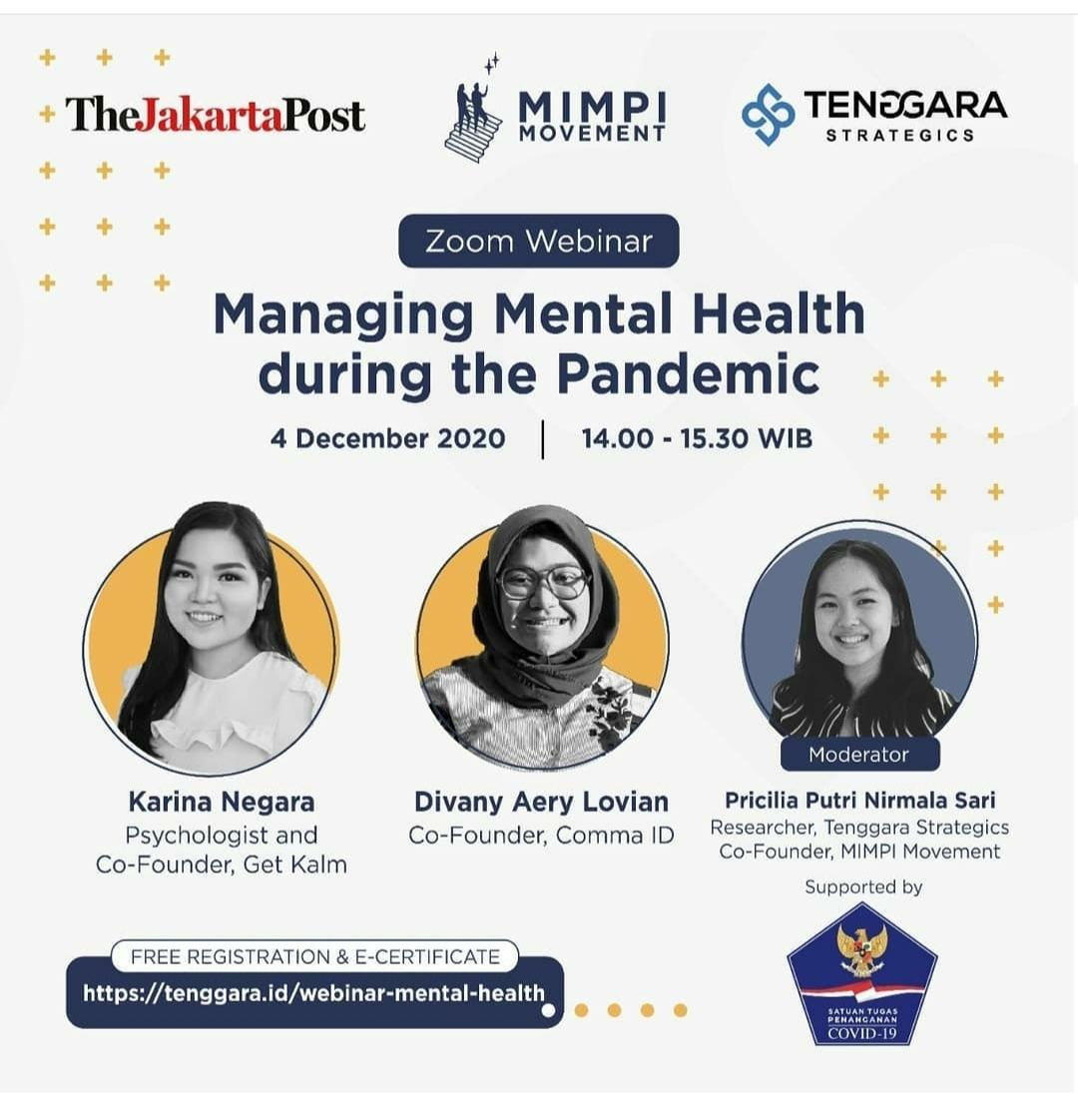 Managing Mental Health During Pandemic