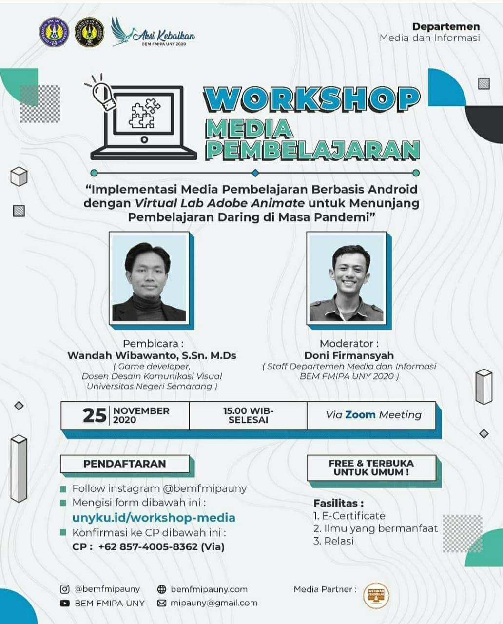 Workshop Media Pembelajaran